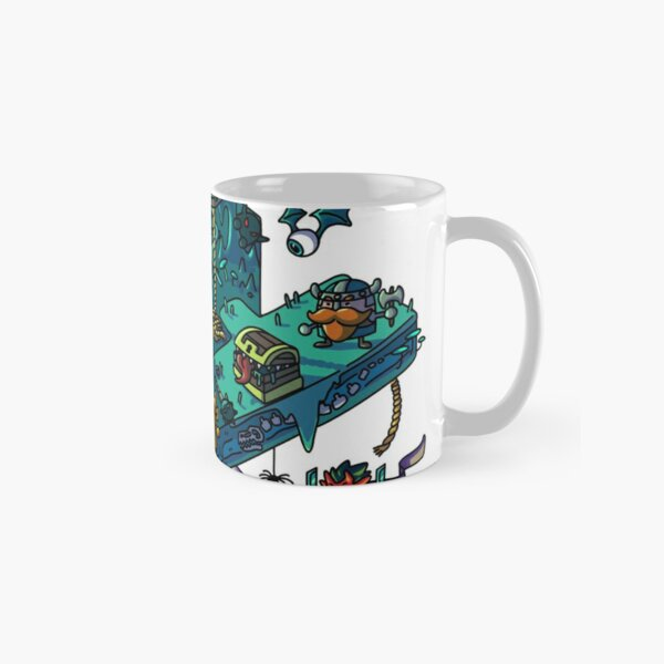 Dungeons and Isometric Dragons Classic Mug