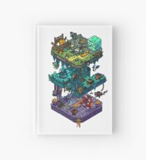 Dungeons and Isometric Dragons Hardcover Journal