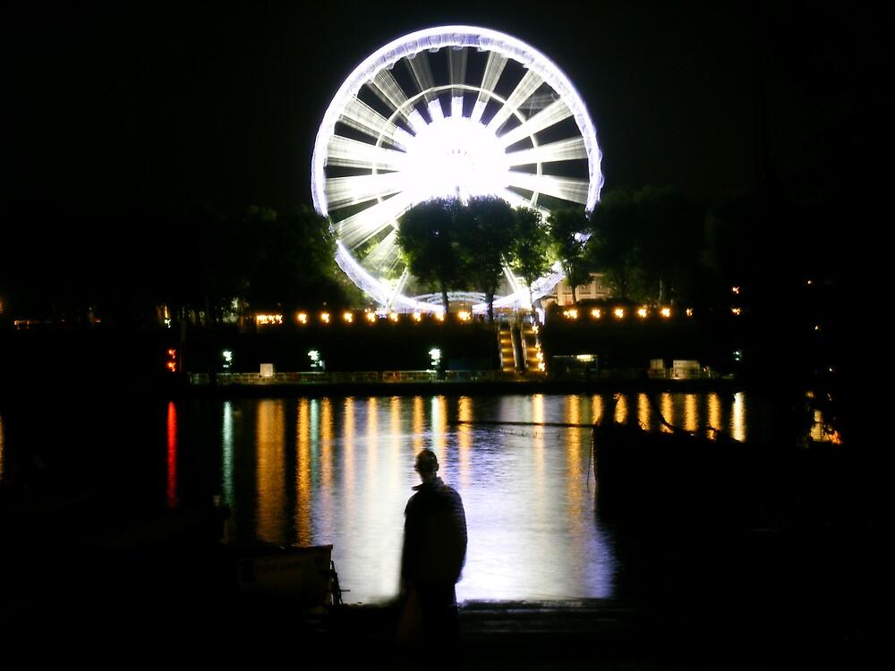 Ferris Silhouette by Lozzle