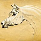"""""""Born from the desert winds"""" - Digital sketch  by SD 2016 Photography & Art Creations"""
