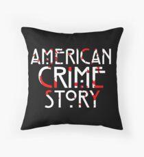 crime stories Throw Pillow