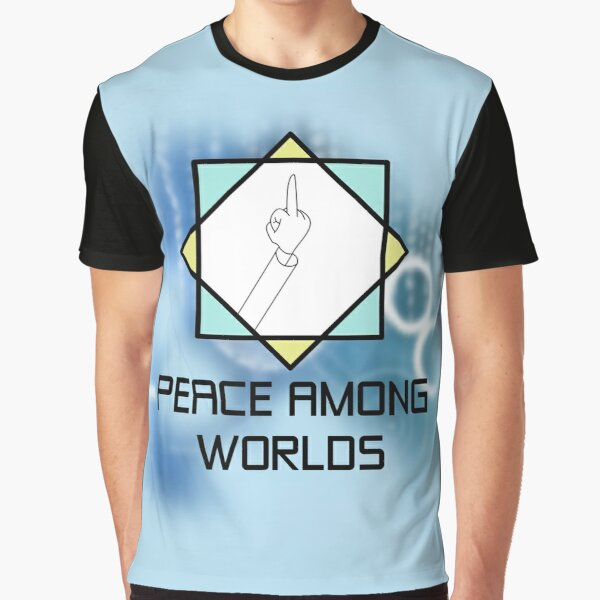 Flip off for Peace Graphic T-Shirt