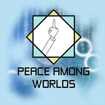 Flip off for Peace by jomzojeda