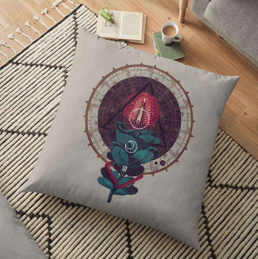 Birth Floor Pillow