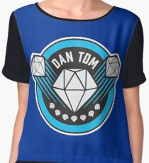 DANTDM!!!! Women's Chiffon Top