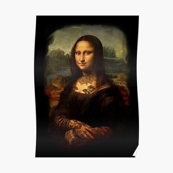 Monalisa tattoo Poster