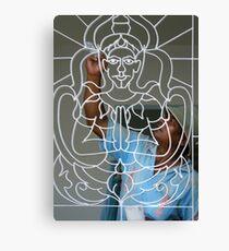 Painting Buddha Canvas Print