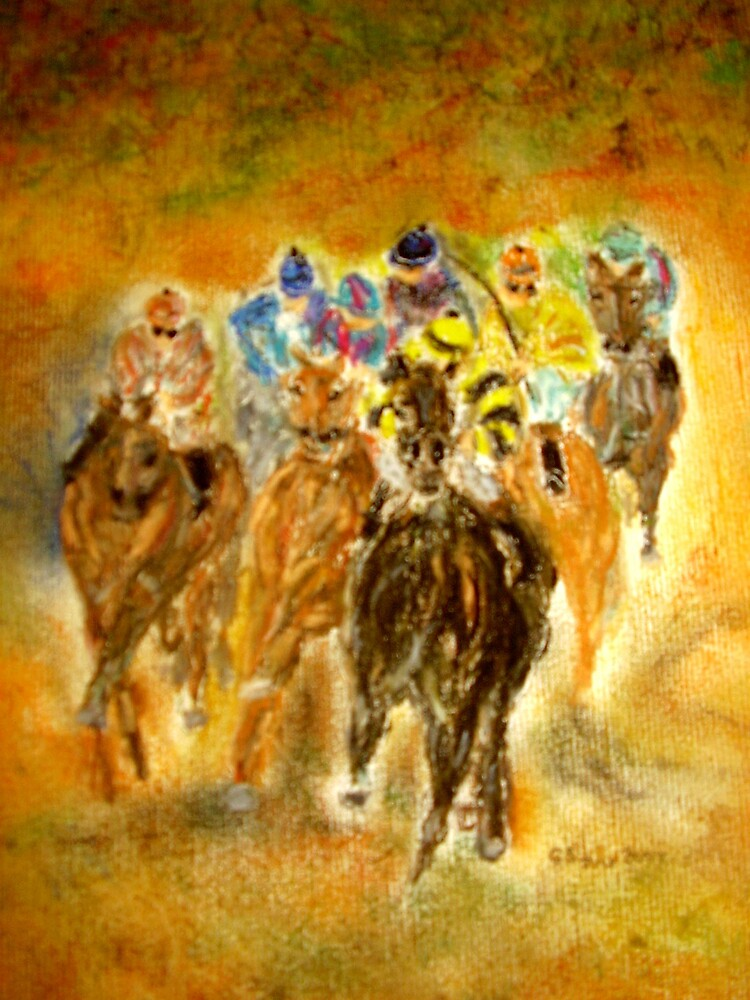The Race is on by GEORGE SANDERSON