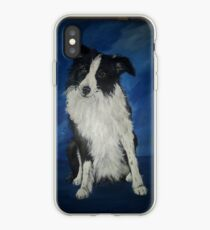 sitting collie iPhone Case