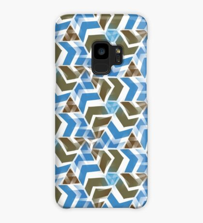 Blue Directions   Pattern Case/Skin for Samsung Galaxy
