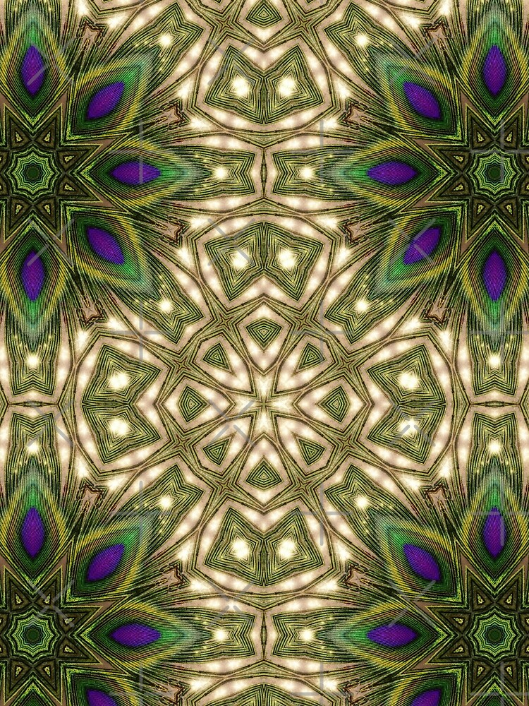 Peacock Healing Light by webgrrl