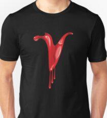Bloody V letter Unisex T-Shirt