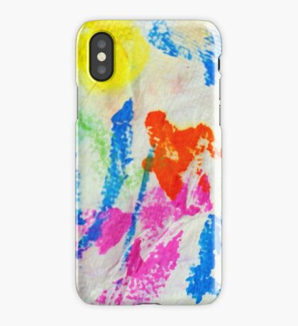 Messy Towel iPhone Case