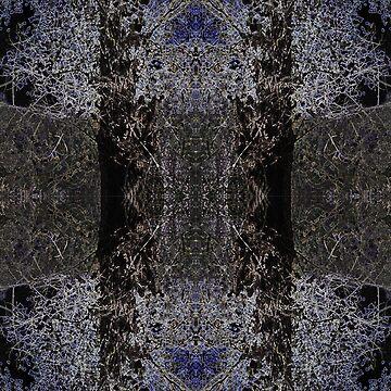 Blue Tree by LordRosie