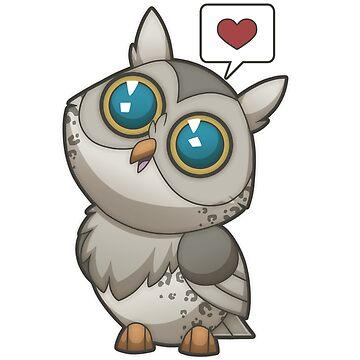 Love Owl [Leopard] by plaguewolfen