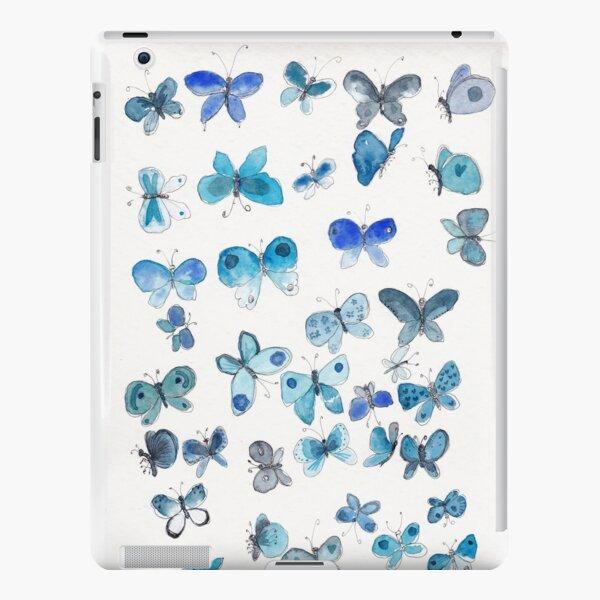 Blue butterflies iPad Snap Case