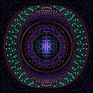 Mandala : Flare by danita clark