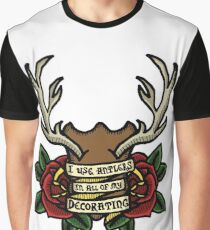 No-one Decorates Like Gaston Graphic T-Shirt