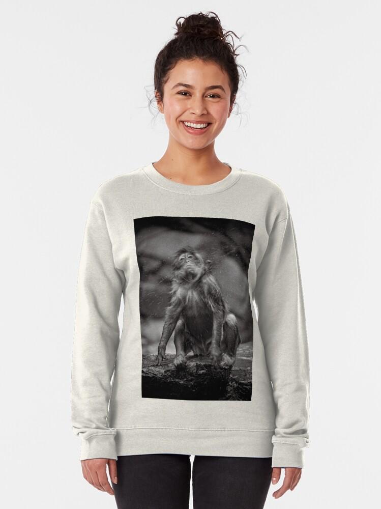 Alternate view of Snow Monkey Shake Down Pullover Sweatshirt
