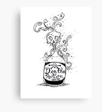 Death potion No.13 Canvas Print