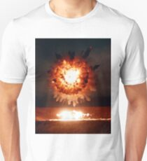 Tomahawk Missile Explosion T-Shirt
