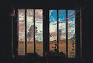 The Potting Shed Window  by Nigel Bangert
