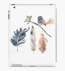 Bird and Feathers iPad Case/Skin
