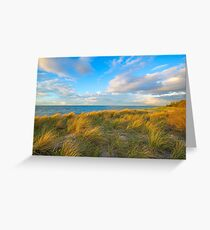 Looking out to sea.... Greeting Card