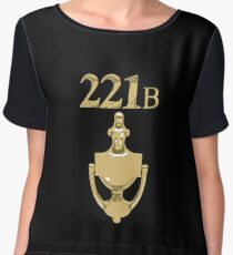 221B Baker Street - Sherlock Holmes Chiffon Top