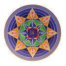 Mandala : Seeds of change   by danita clark