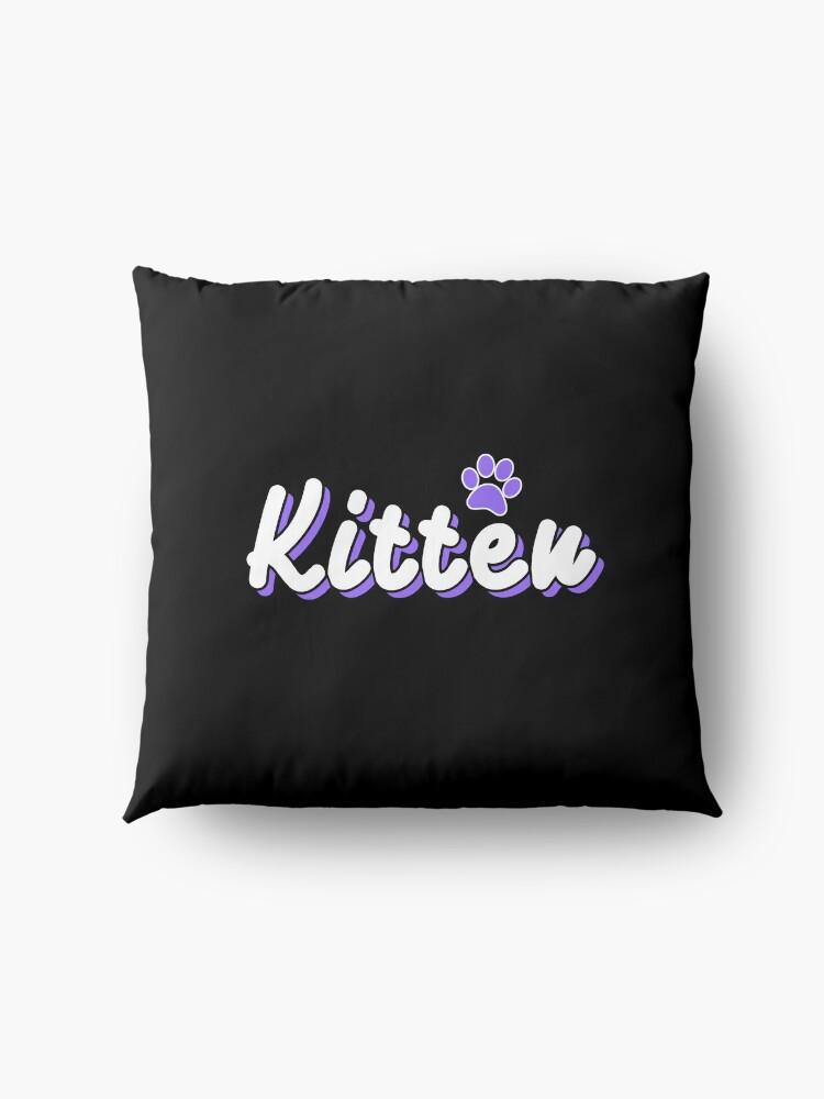 Alternate view of Kitten Floor Pillow