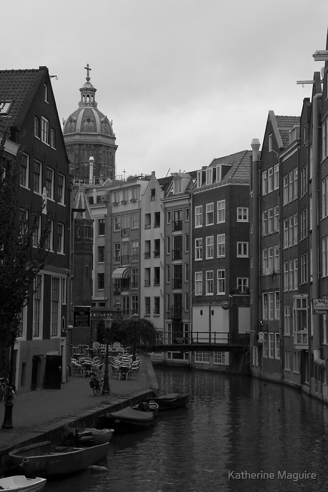Amsterdam Canal by Katherine Maguire