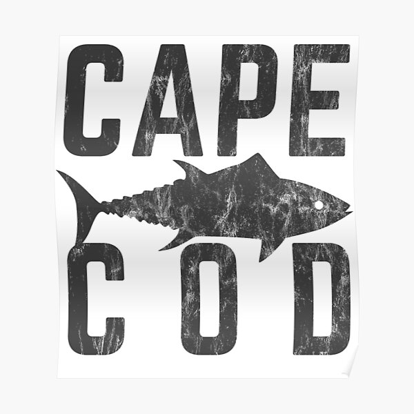 Cape Cod Tuna Shirt Poster