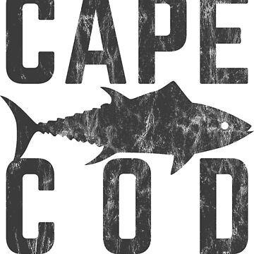 Cape Cod Tuna Shirt by HoodieWoodie
