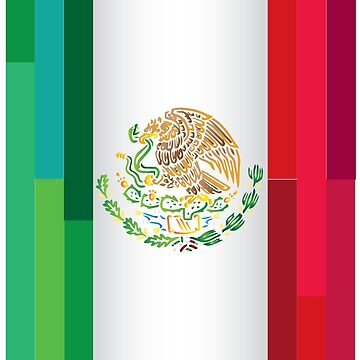 Mexican Flag by Coelina