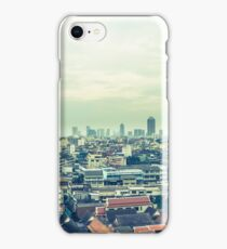 Skyline panorama Bangkok Thailand iPhone Case/Skin