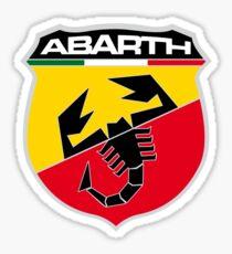 abarth logo Sticker