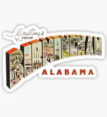 Greetings from Birmingham, Alabama 1 Sticker