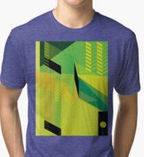 Hypnotzd Abstract Art Tri-blend T-Shirt