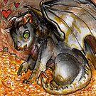 "Chibi ""Dragon Syndrome"" by Furiarossa"
