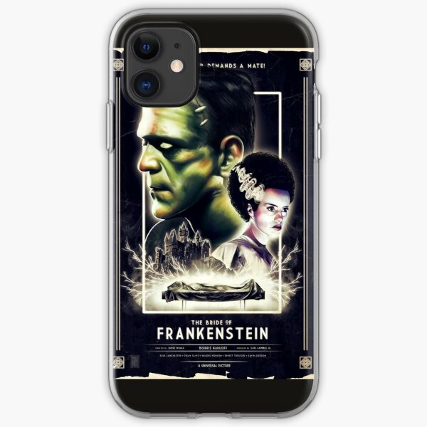 Frankie Finds Love! Frankenstein Boris Karloff iPhone Soft Case