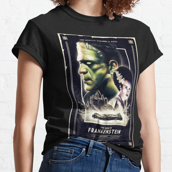 Frankie Finds Love! Frankenstein Boris Karloff Classic T-Shirt
