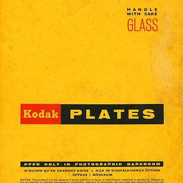 Vintage Kodak Plates by brainsontoast
