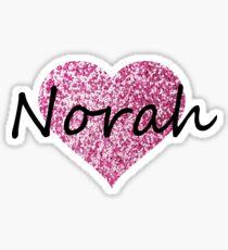 Norah Sticker