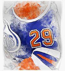 Hockey Jersey #29 Poster