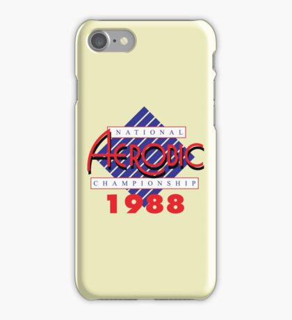 1988 National Aerobic Championship iPhone Case/Skin