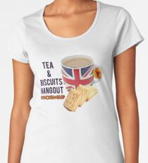 Tea & Biscuits Merch Women's Premium T-Shirt