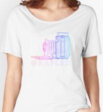 Vintage Photography - Graflex (Version 2) - Multi-Colour Women's Relaxed Fit T-Shirt