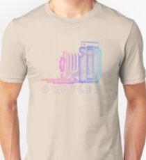 Vintage Photography - Graflex (Version 2) - Multi-Colour Unisex T-Shirt