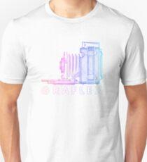 Vintage Photography - Graflex (Version 2) - Multi-Colour Slim Fit T-Shirt